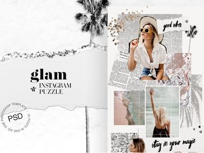 Glam Instagram Puzzle