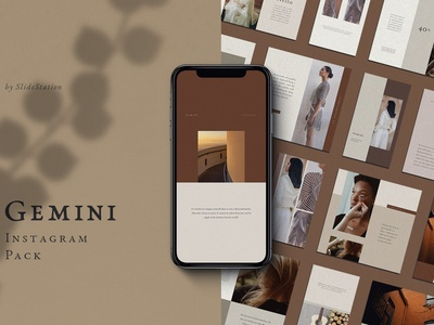Gemini Instagram Pack