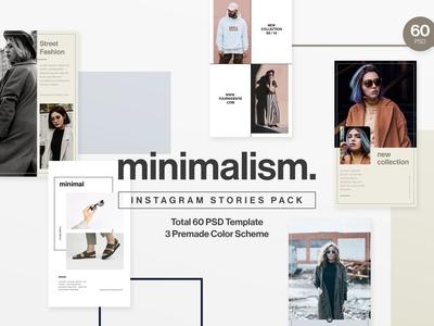 Minimalism - Instagram Stories Pack