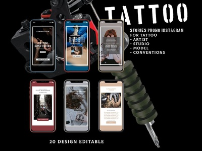 TATTOO - Animated Instagram Stories