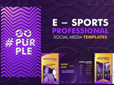E - Sports Social Media Template
