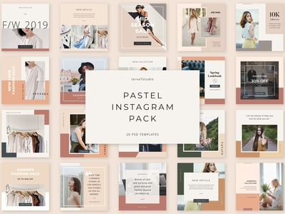Pastel Instagram Pack