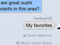 Sushi Recommendations