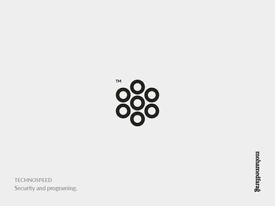 TECHNO security programming technology marks imohamedfarag mmfg logodesign logos monogramts monogram ts