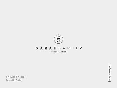 SARAH SAMIER Makeup Artist arabian ssletter monogram mohamedfarag cosmetic fashion sarah makeup artist