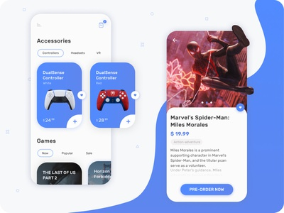 Playstation store app concept concept dashboard ui dashboad mobile app design playstation ui  ux ui design mobile ui design user experience user interface game app app shop mobile app app store mobile uiux mobile ui mobile application app ui