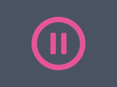 Avenue – Logo pause brand icon logo