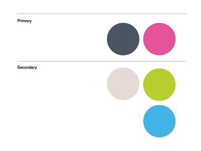 Avenue –Palette secondary primary pantone color palette