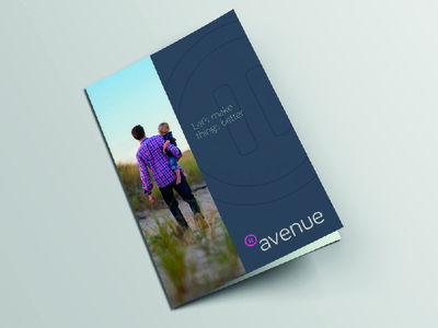 Avenue – Brochure photograpy corporate print brochure