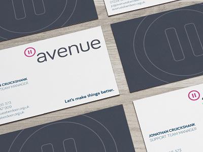 Avenue – Stationery copy card print stationery businesscard