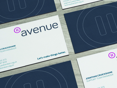Avenue – Stationery copy card print stationery businesscard