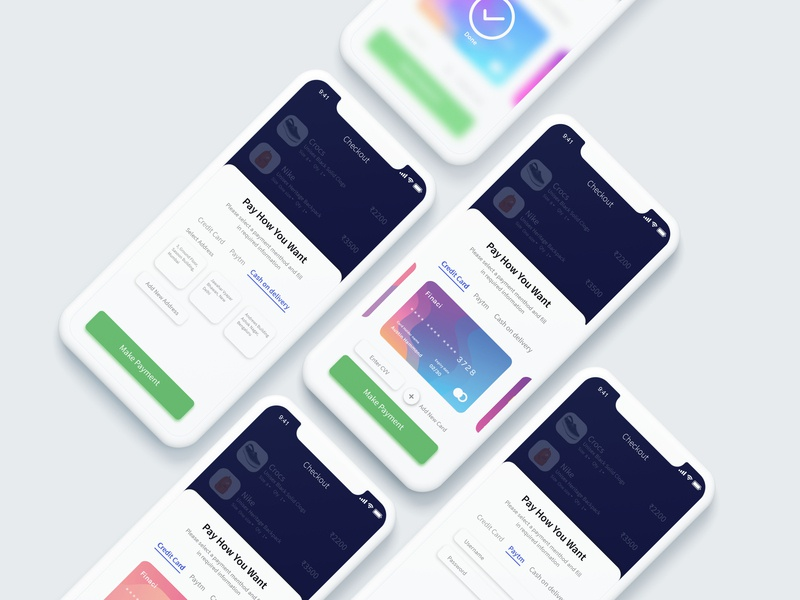 Payment Checkout modern web animation mockup user experience card checkout app  design iphonex ios illustration flat design ux design branding art payment ux ui app