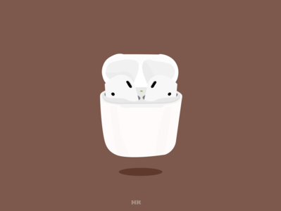 AirPods Illustration