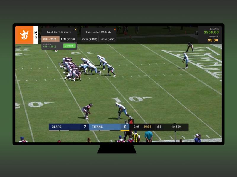 Daily UI - Day 25 - TV app by matt swanson on Dribbble