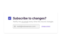 DailyUI - Day 26 - Subscribe