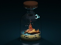 Maiden s Tower in Jar