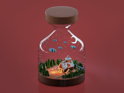 Witch's House In Jar