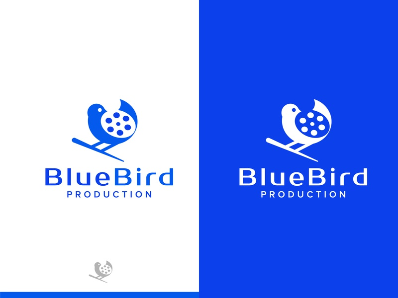 Blue Bird Production Logo