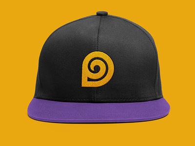 Designollo Brand Logo embroidery Hat Design d mark hat design embroidery logo d logo d monogram business logo typography creative logo identity logotype logodesign logo