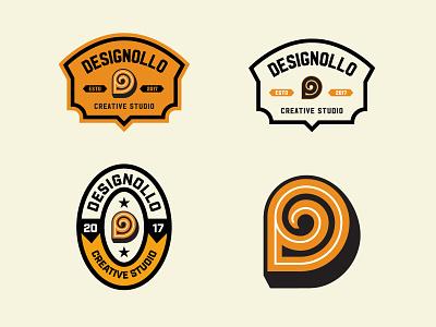Designollo Patch & Badge design graphic design embroidery hat design modern vintage vintage logo badge design patch design patches logo hoodie logo hat logo illustration design creative logo logotype logodesign logo