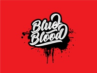 Blue Blood (Typography)