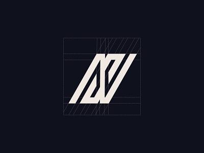 NS Logo word logo minimalist logo text logo letter logo sn logo s logo n logo ns logo creative logo logotype identity typography graphic creative design logodesign logo