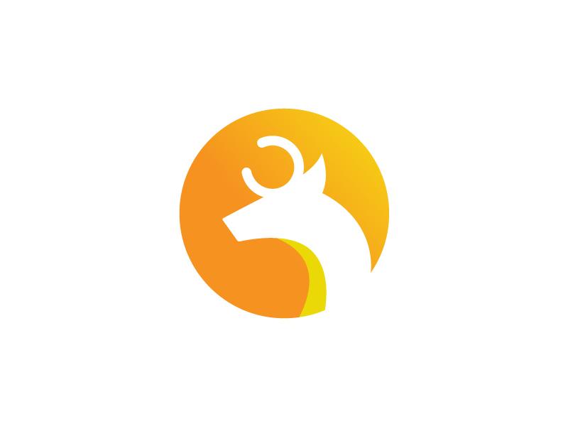 Deer Creative Logo web logo job logo nature logo professional logo wild logo animal logo deer logo minimal logo logodesinger creative logo minimalist logo logotype identity typography graphic creative branding design logodesign logo