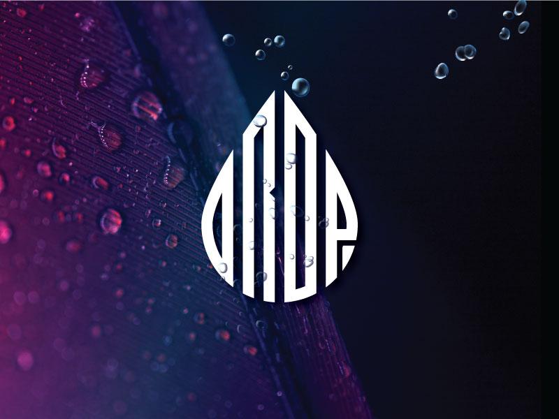 Drop animation mobile app print design wed design web logo dropbox pure water waterdrop water logo drop logo minimalist logo logotype typography creative logo illustration logodesign graphic creative branding logo
