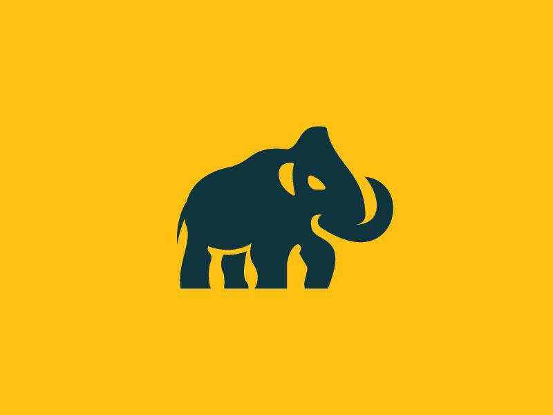 Elephant Logo sketch e logo creative logos natural logo company logo business logo wild logo creative animal animation animal logo elephant logo elephant minimalist logo illustration branding typography creative logo creative logodesign logo