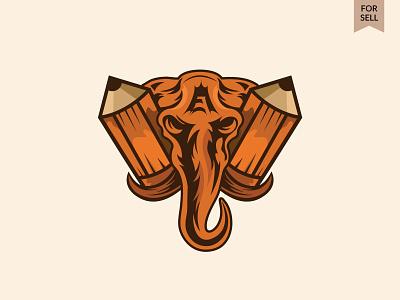Elephant Creative Logo logoground best shot studio logo wild animal logo illustration creative logo logotype best logo icon for sell animal logos elephant logo art design creative design branding brand and identity logos brand brand design best offer