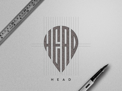 Head Logo Sketch