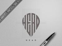 Head Logo Sketch
