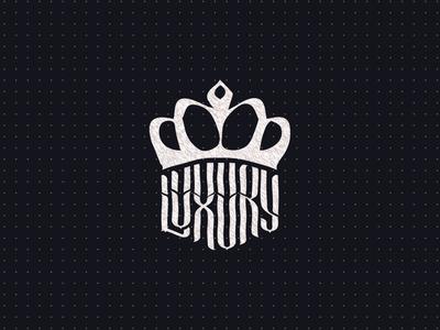 Luxury logo sketch
