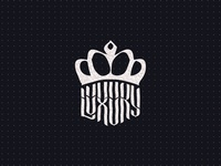 Luxury logo sketch