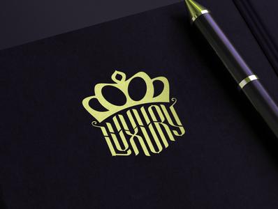 Luxury Logo Notebook