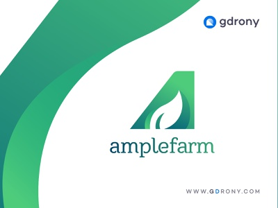 Initial Letter a Agriculture Logo Design illustration business logo design agriculture business  consulting park nature pata leaf tree green