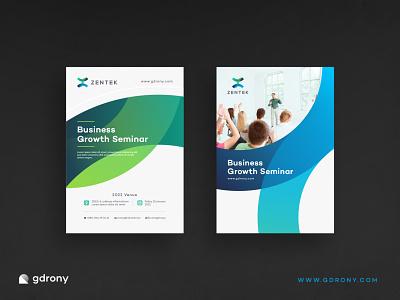 Creative Business Flyer Design concept template vector design poster flyer modern clean company business creative