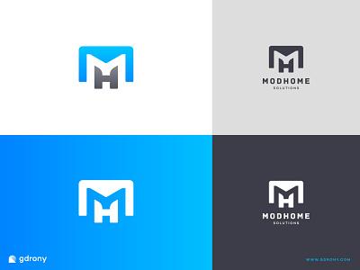 Negative Space M Letter or H Logo Design shop illustration icon design logo design graphic design company logo logo negativespace negative space logo design h logo h m logo m