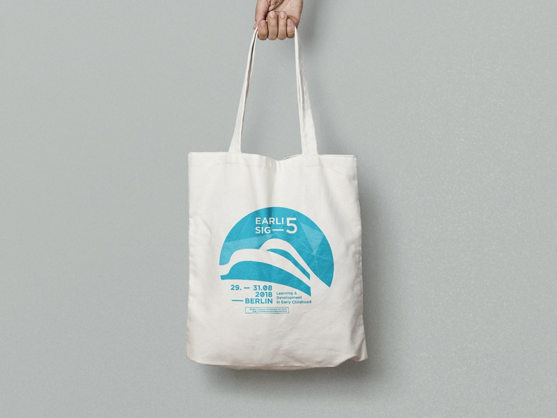 Conference Tote Bag conference corporate identity corporate design apparel tote bag branding logo illustration