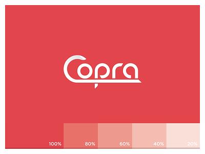Copra logo coprorate identity