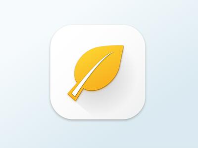 Button/Icon Eco longshadow button eco icon
