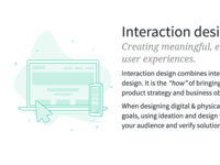 Interaction design illustration