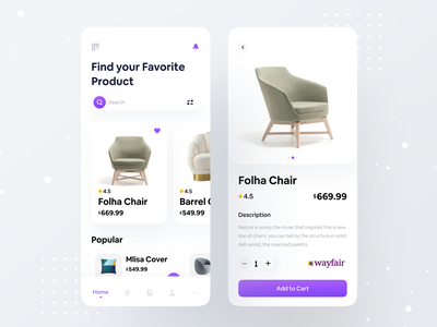 Product App UI dribbble uxdesign interface uidesigner userinterface design appdesigner dribbblers furniture website uiuxdesigner designtips userinterfaces webdesigner uiux ux ui userinterface ecommerceapp ecommercebusiness furnitureapp furniture