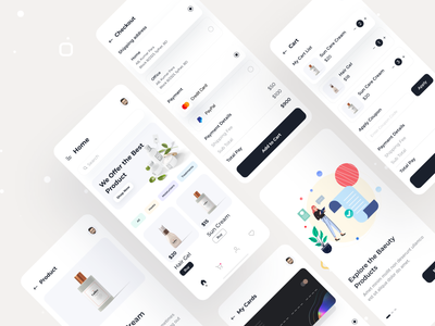 Beauty Product App experience experimental ux design uxdesign ui design uidesign uiux design beauty app beauty product ux ui ecommerce designer app concept user interface dashboard app  design