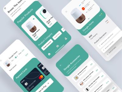 E-commerce UI App Concept