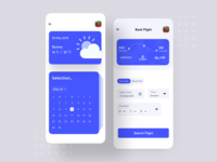 Flight Booking App UI Design