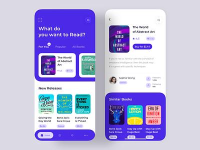 E-Book Store App conceptual design dark app android  app typography colorful app user interface dashboard app  design app concept appstore reading list inspiration design creative bookshelf ecommerce ux uiux ui app