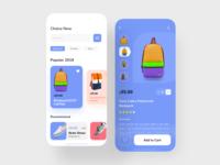 E-commerce App UI