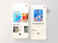 Audio Book UI App