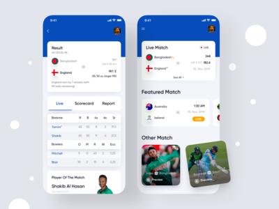 Live Sports App